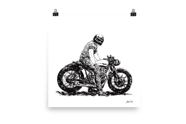 Image of Rider 5 RAW | Art Print