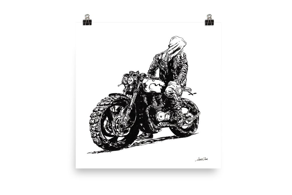 Image of Rider 3 RAW | Art Print