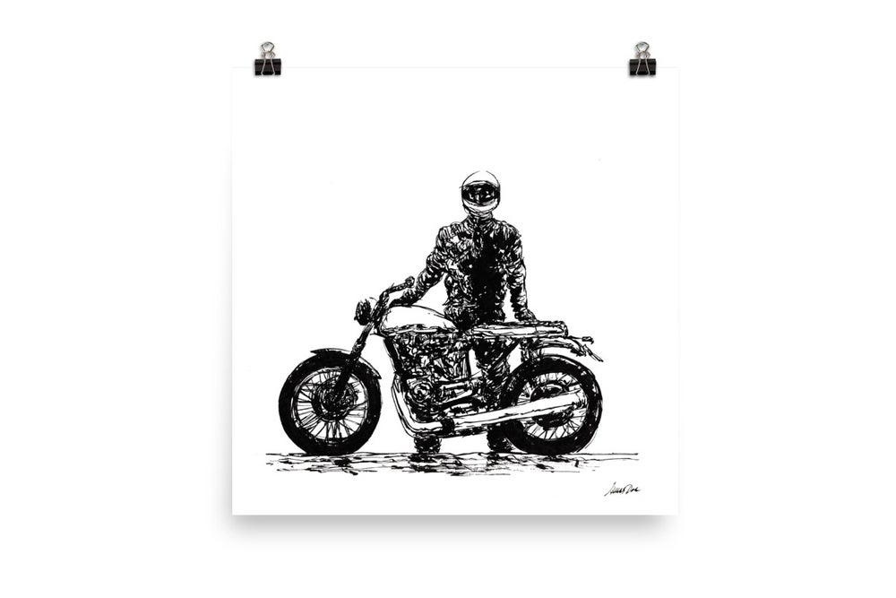 Image of Rider 7 RAW | Art Print