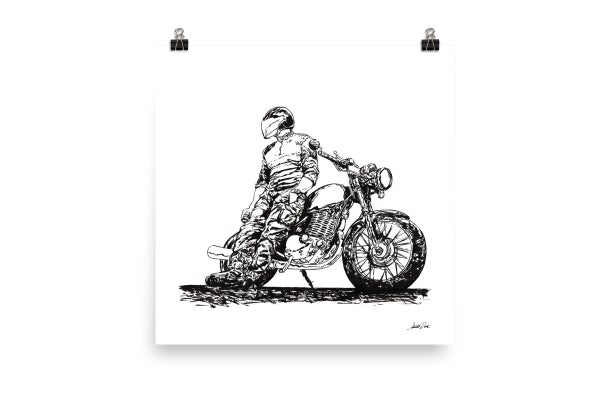 Image of Rider 8 RAW | Art Print