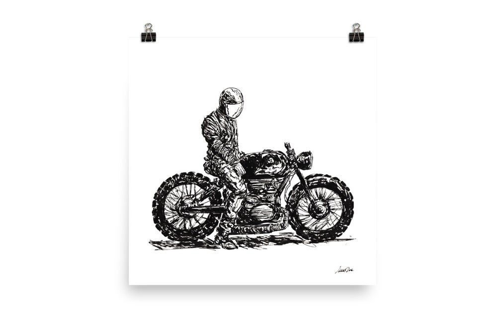 Image of Rider 6 RAW | Art Print