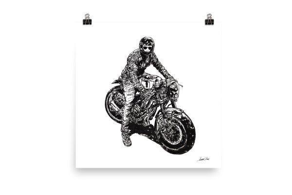 Image of Rider 10 RAW | Art Print