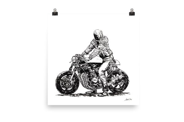 Image of Rider 11 RAW | Art Print
