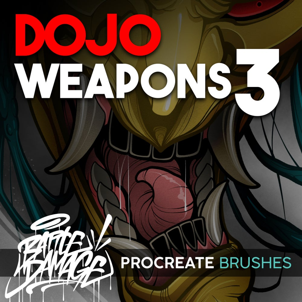 Image of Dojo Weapons 3 for Procreate