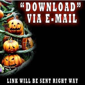 Image of DOWNLOAD - SINGING PUMPKIN ANIMATION (INSTANT)
