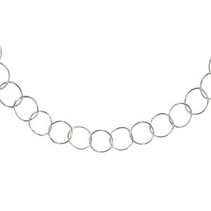 Image of LONG ETERNITY CHAIN SILVER