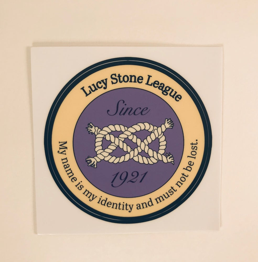 Image of Lucy Stone League Sticker