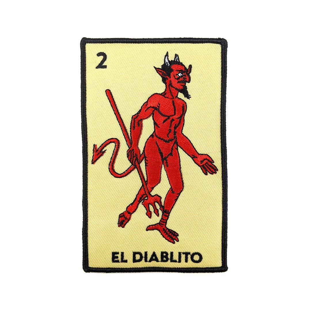 Image of El Diablito Loteria Card Patch