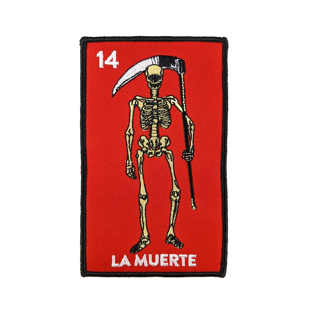 Image of La Muerte Loteria Card Patch