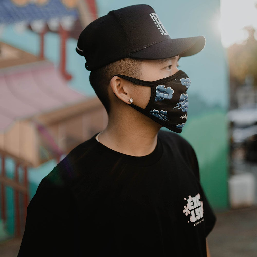 Image of Clouds Face Mask