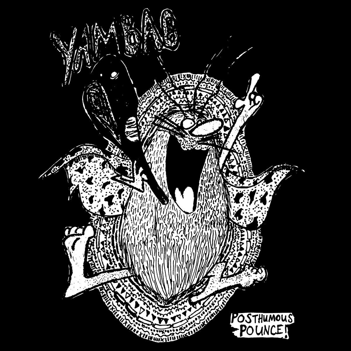 Image of YAMBAG - Posthumous Pounce! LP