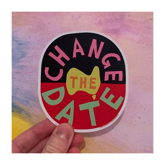 Image of LARGE Change The Date Stickers