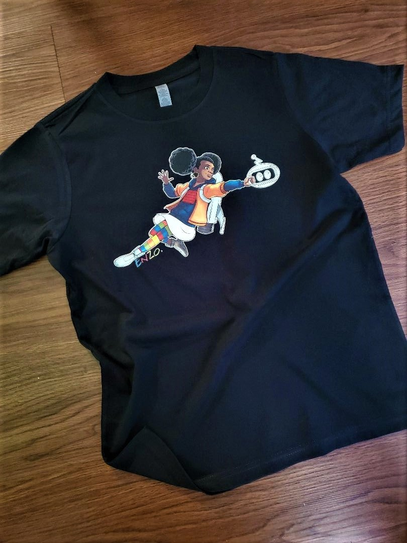 Image of Flying Genesis Angel Crewneck