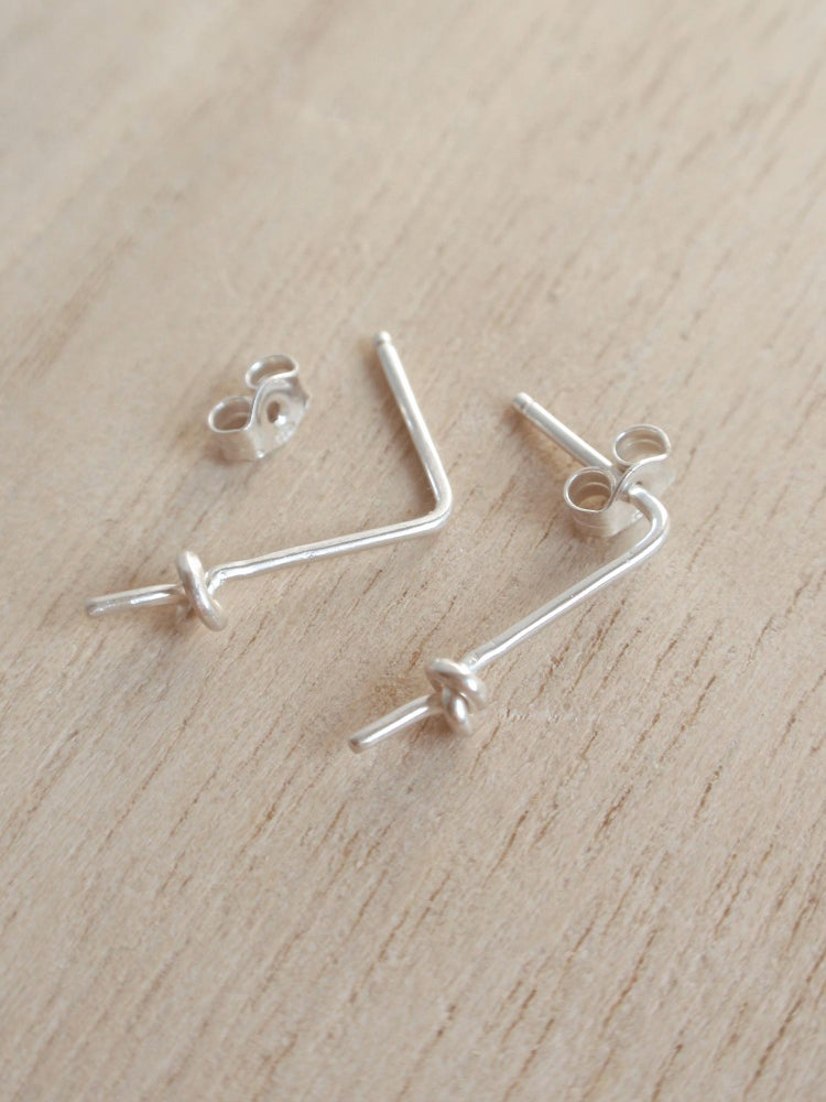 Image of Knot Earrings