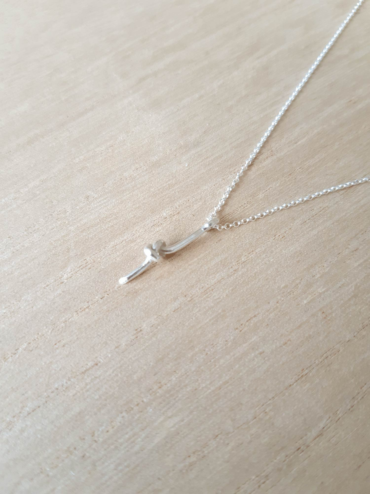 Image of Knot Necklace