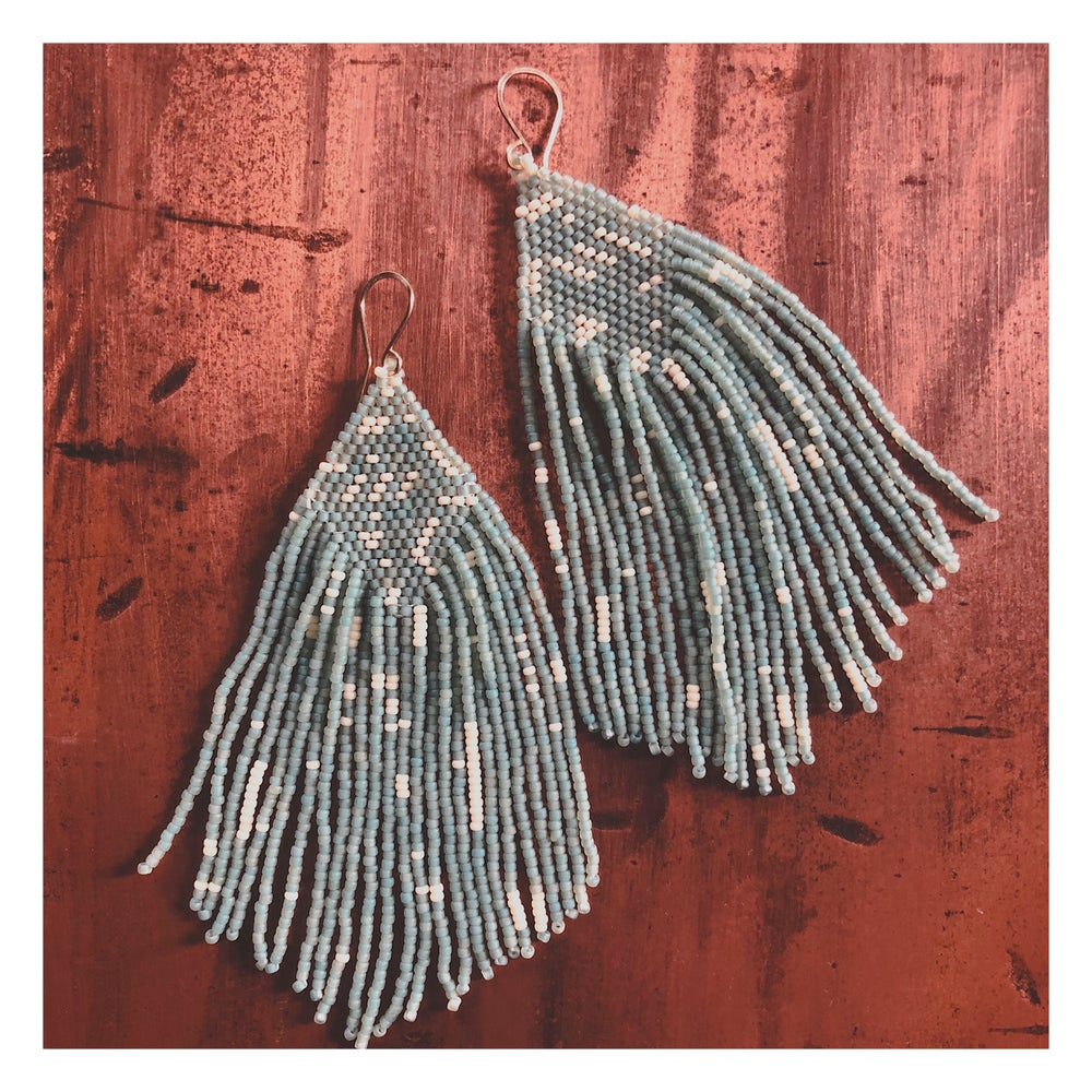 Image of Angelica Earrings in Seafoam