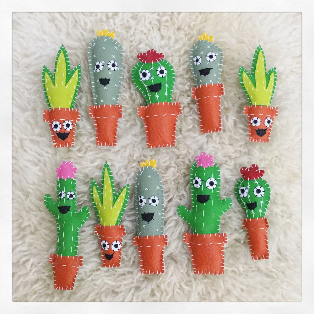 Image of Happy Cactus Brooch