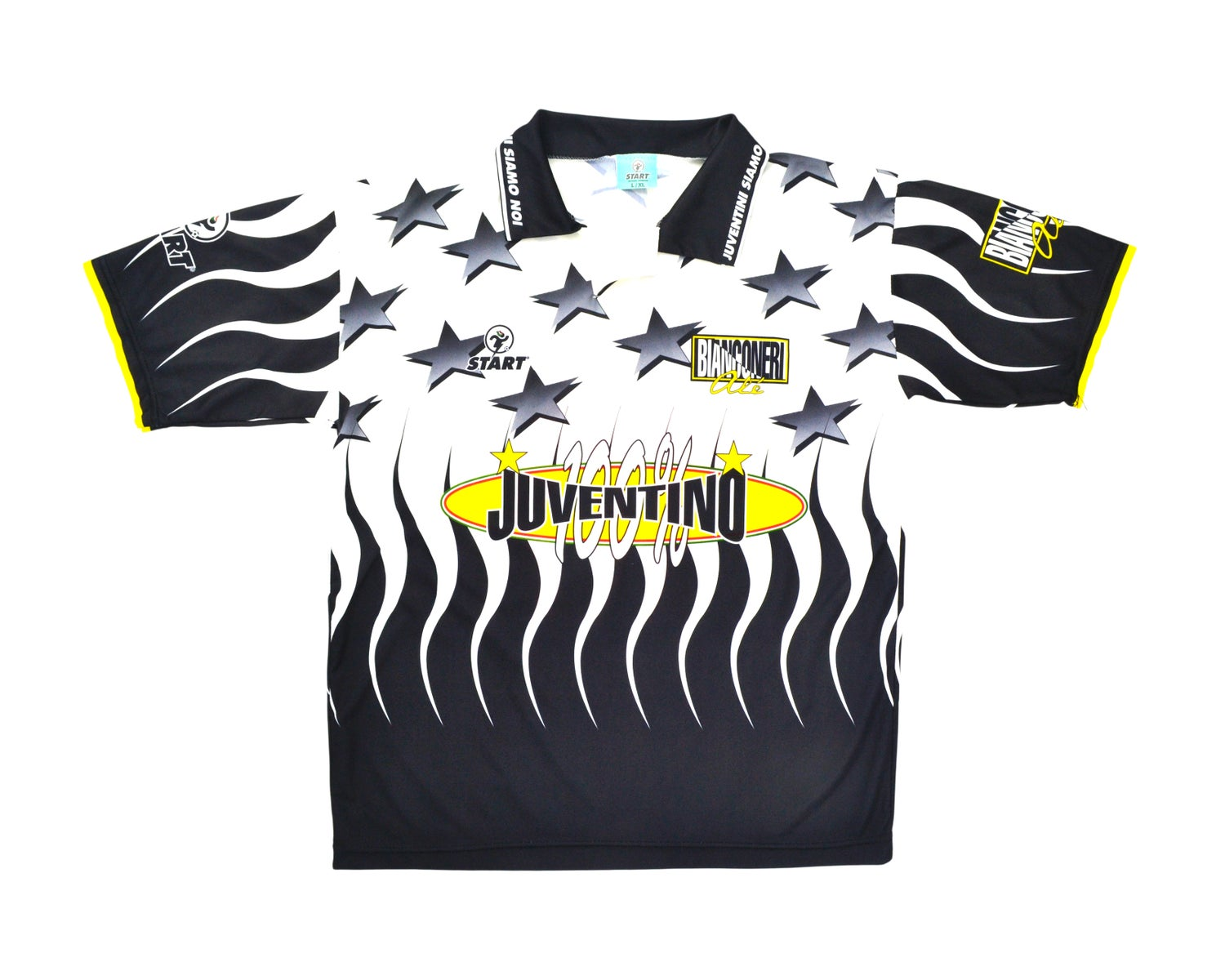 Image of 90s Juventus Bootleg Fan Shirt L/XL