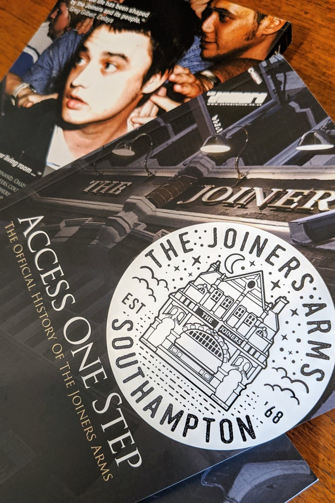 Image of JOINERS BOOK + STICKER
