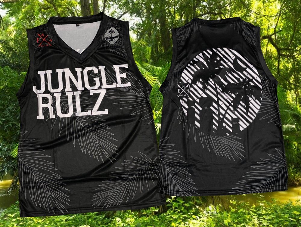 Image of jungle jerseys