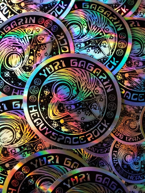 Image of Large Holographic Stickers