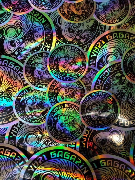 Image of Small Holographic Stickers