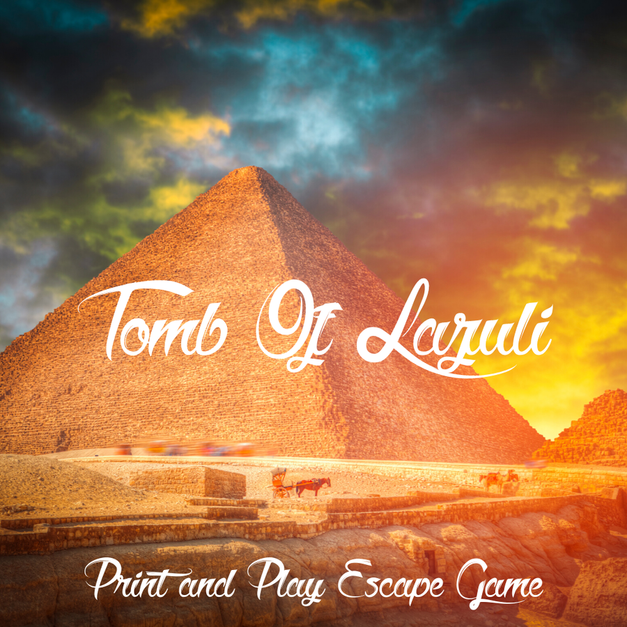 Image of Tomb Of Lazuli - Print & Play Escape Room Game