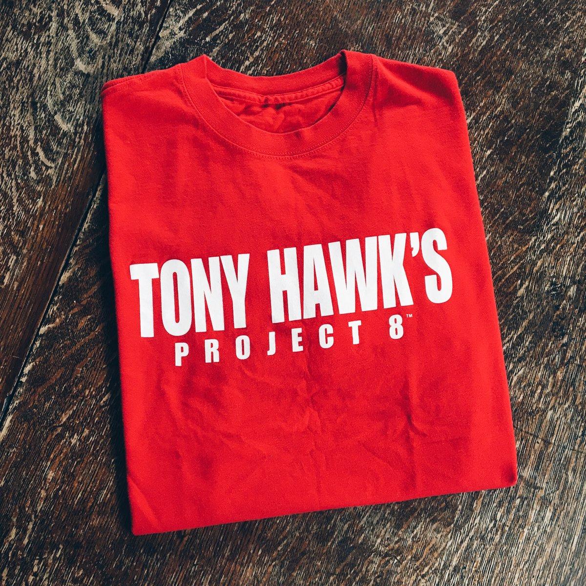Image of Original 2006 Tony's Hawks Project 8 Video Game Promo Tee.