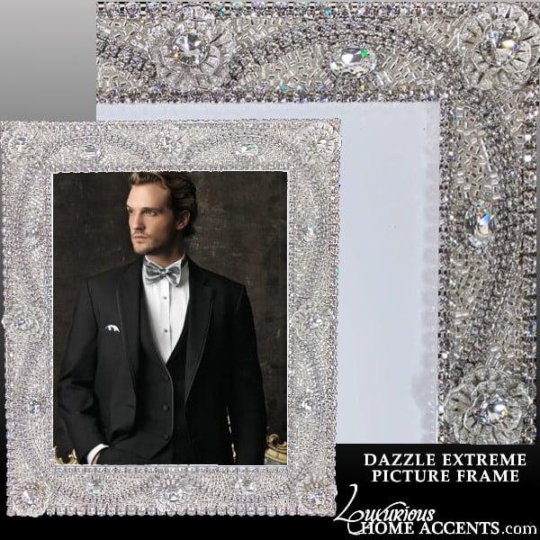 Image of Swarovski Crystal Dazzle Extreme Picture Frame