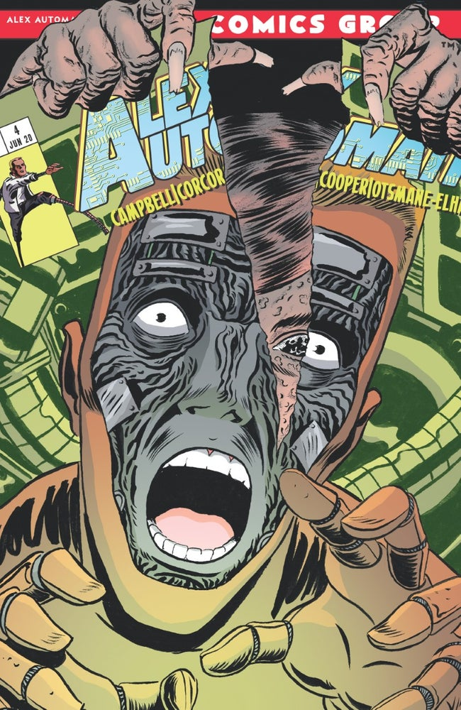 Image of Alex Automatic #4/#5 Double Issue - Print Copy
