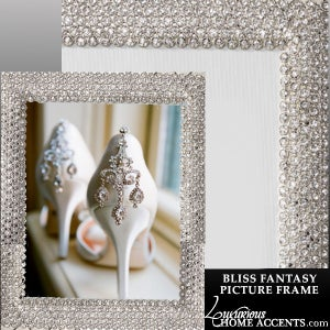 Image of Bliss Fantasy Swarovski Crystal Picture Frame