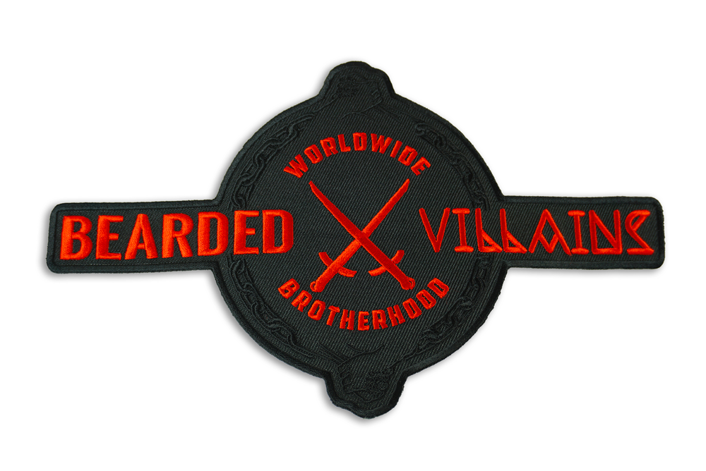 "Image of "" UNITED "" Collectible top back patch"