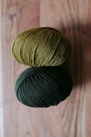 Image of Heavy Merino de Knitting for Olive