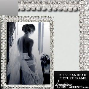Image of Bliss Bandeau Swarovski Crystal Picture Frame