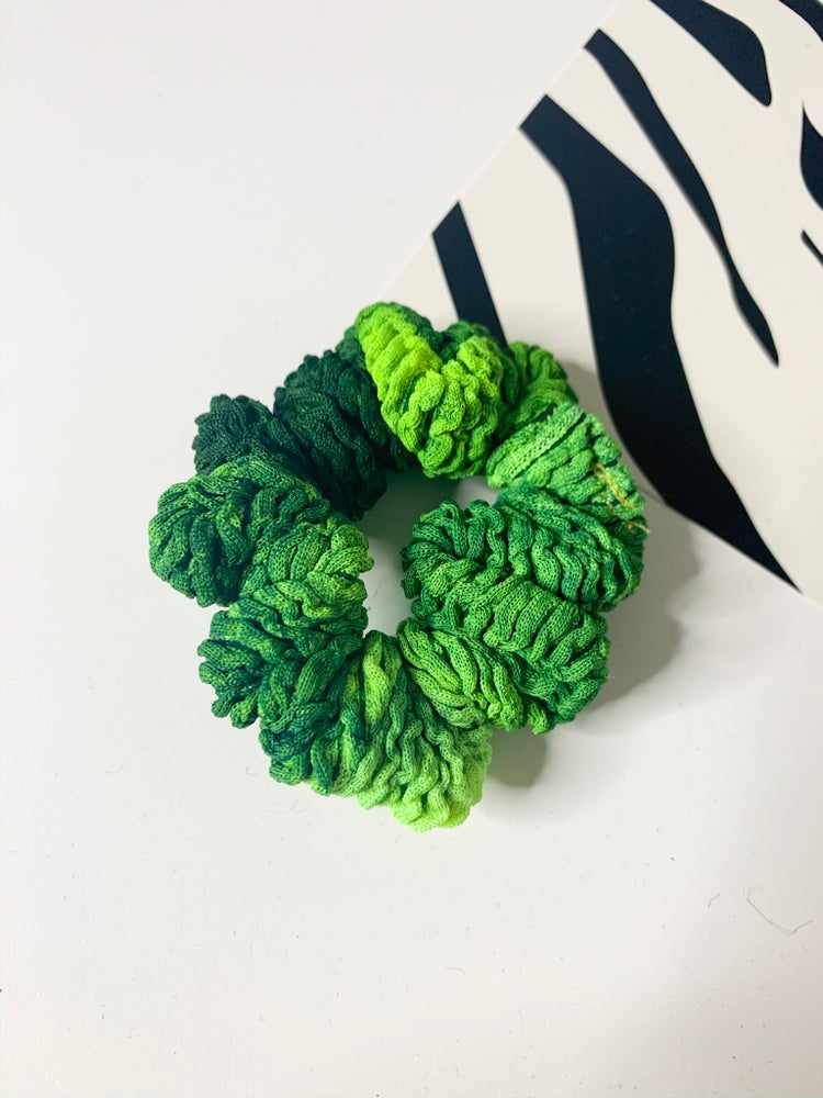 Image of Crinkle Scrunchie - Cool Tones