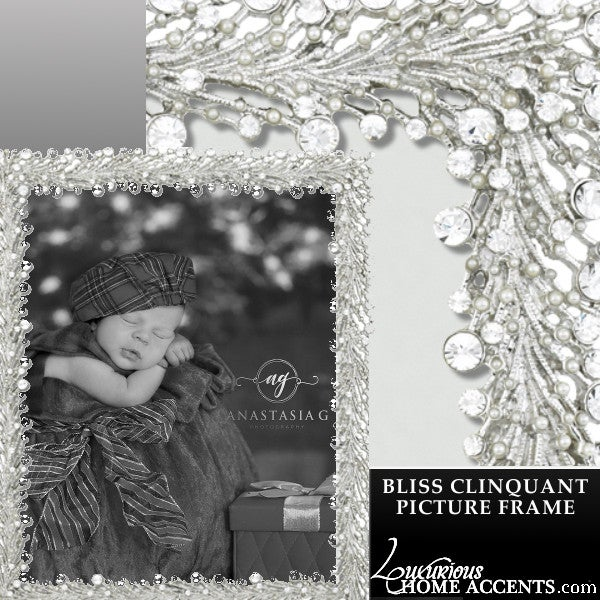 Image of Bliss Cliquant Swarovski Crystal Picture Frame
