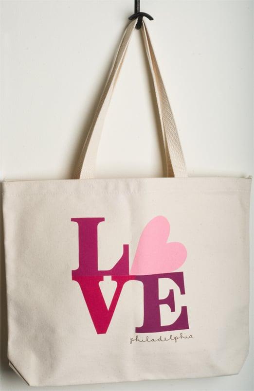 Love Philadelphia tote (pink)