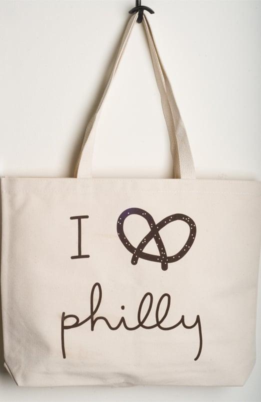 I Pretzel Philly tote