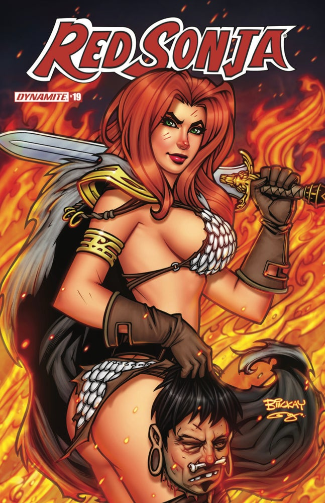 Image of Red Sonja #19 Comics Scene Bill McKay Exclusive