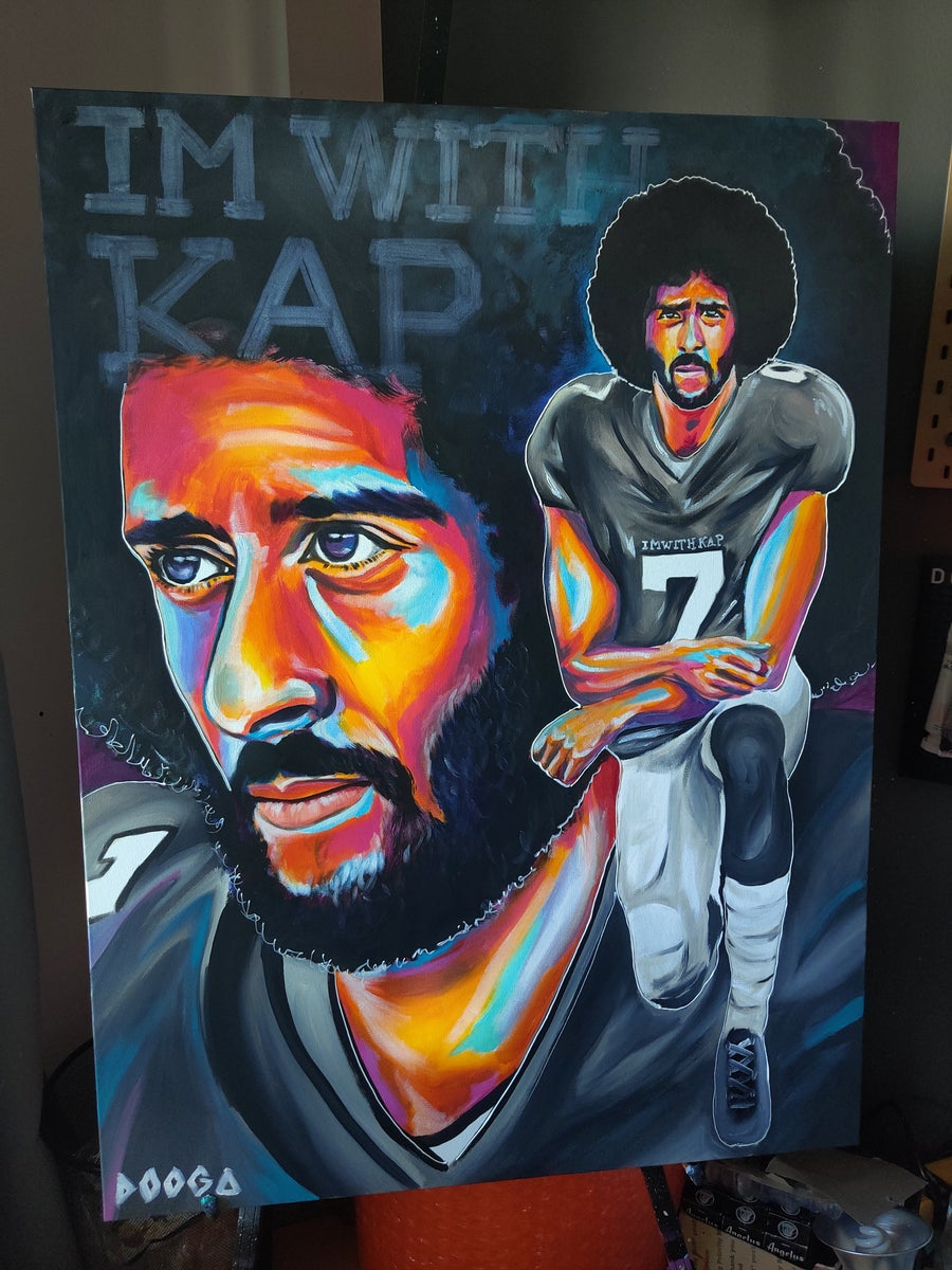 Image of I'M WITH KAP - Canvas Print