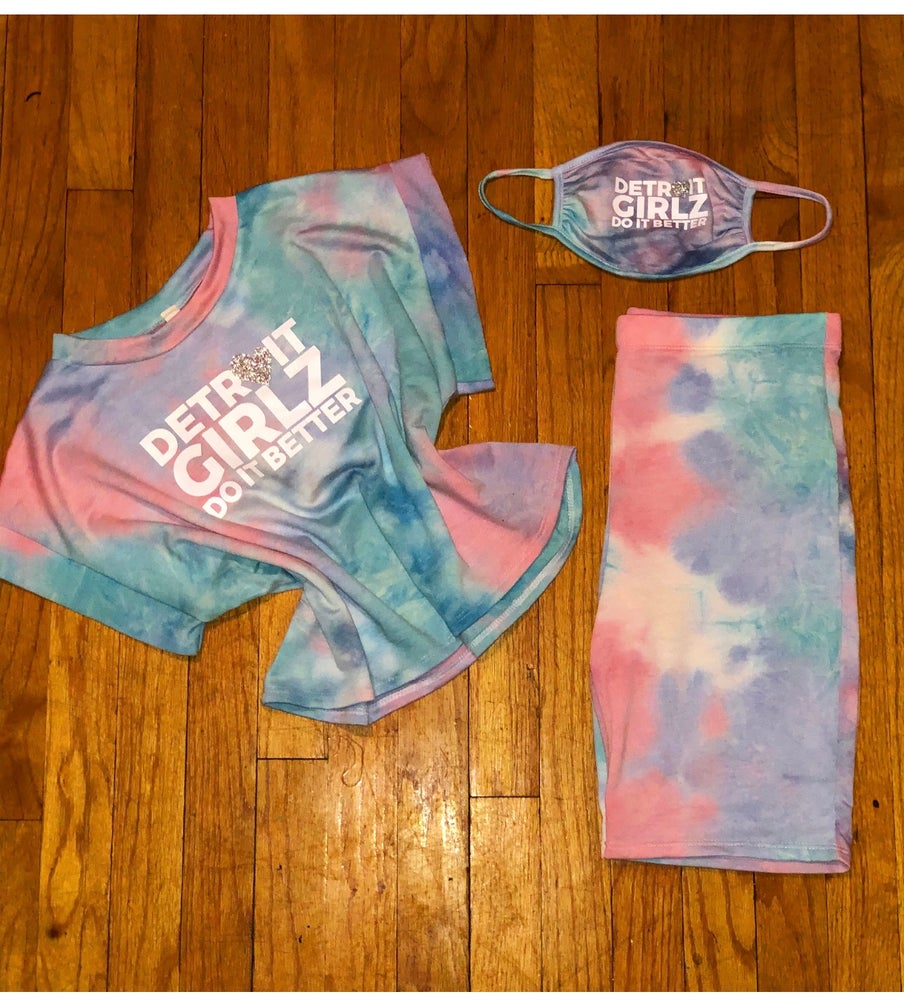 Image of Cotton candy Crop set