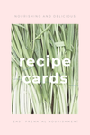 The Pantry Recipe Cards