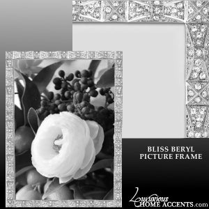 Image of Bliss Beryl Swarovski Crystal Picture Frame