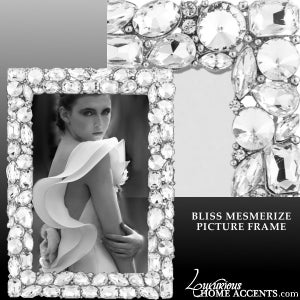 Image of Bliss Mesmerize Swarovski Crystal Picture Frame