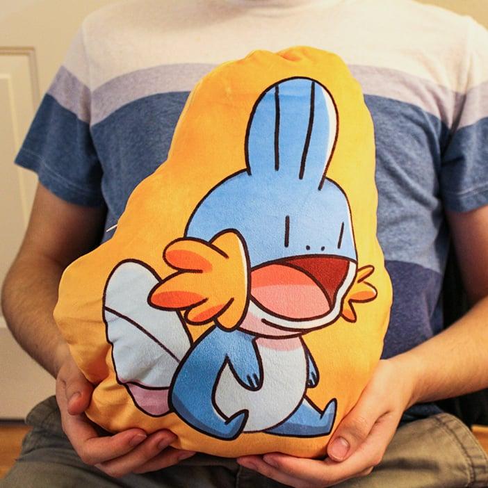 Image of Mudkip / Shiny Mudkip Plush Pillow