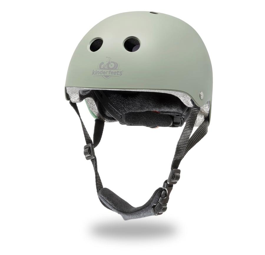 Image of Helmet Matte Silver Sage. NEW COLOR!