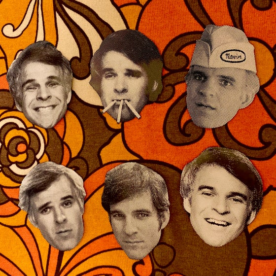 Image of Steve Martin sticker pack