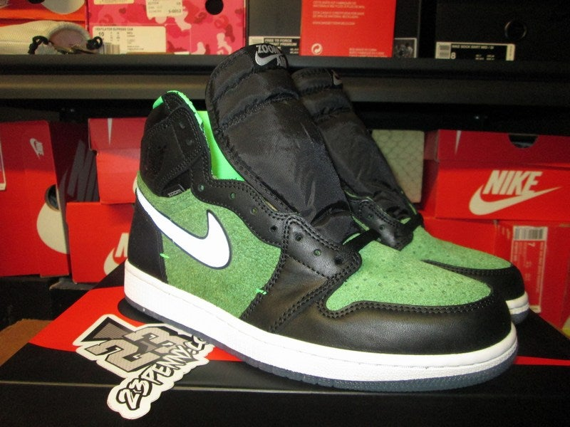 "Image of Air Jordan I (1) Retro High Zoom ""Zen Green"""