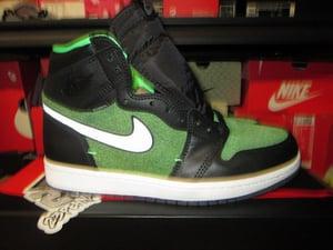 "Image of Air Jordan I (1) Retro High Zoom ""Zen Green"""