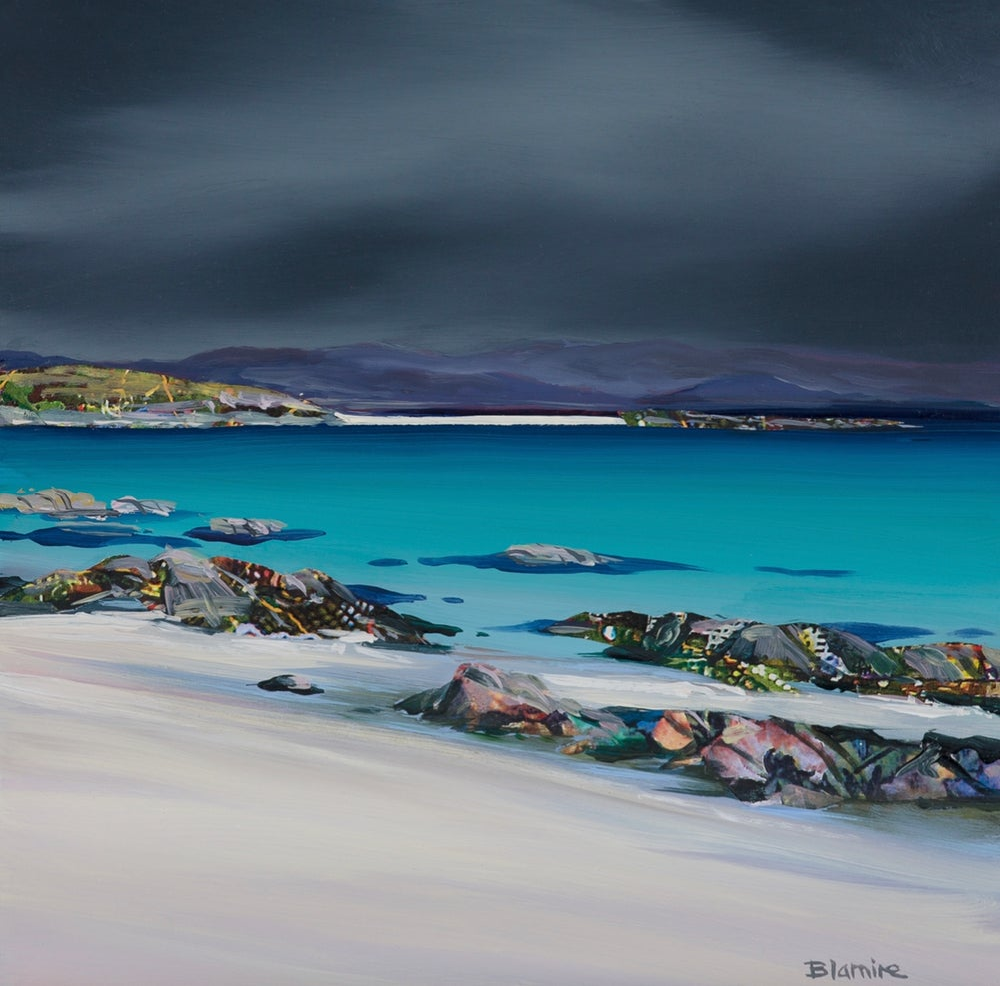 Image of Iona storm giclee print